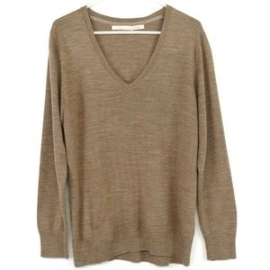 Old Navy Men's Sweater Pullover Wool Tan